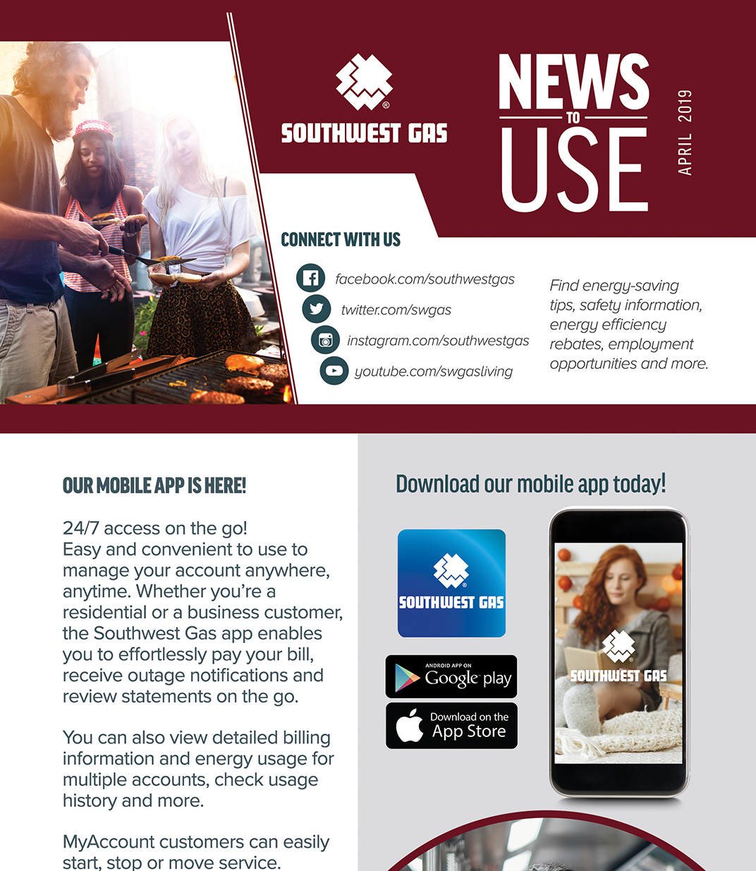 Southwest Gas Newsletters
